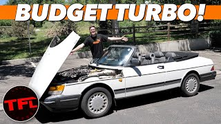 Here's Why a $2500 Saab 900 Turbo May Be The BEST Classic Car Investment You'll Ever Make!