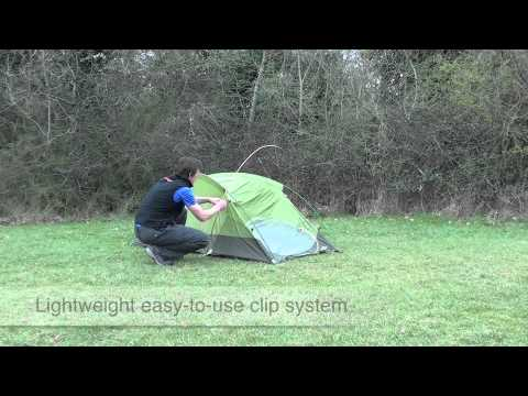 & How to pitch a The North Face Tadpole 2DL tent - YouTube