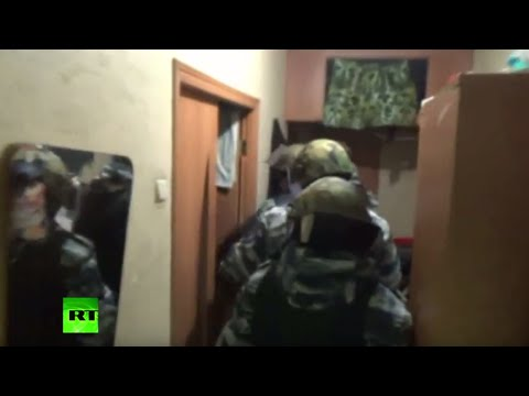 RAW: Islamic terror cell taken down by Spetsnaz in Moscow