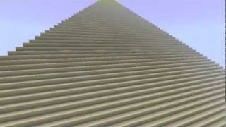 the great pyramid of giza in minecraft