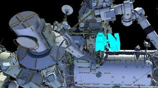 ISS Expedition 54 EVA US Spacewalk 48 Preview Animation