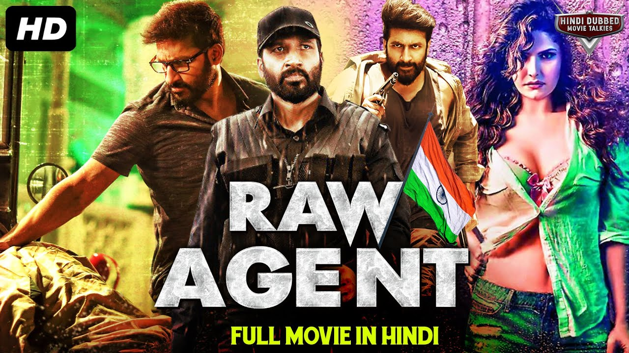 Download RAW AGENT - South Indian Movies Dubbed In Hindi Full Movie | Gopichand, Zareen Khan, Mehreen Pirzada