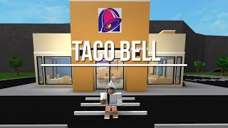 ROBLOX - France Bienvenue à Bloxburg: Taco Bell 38k -5K ANNOUNCEMENT