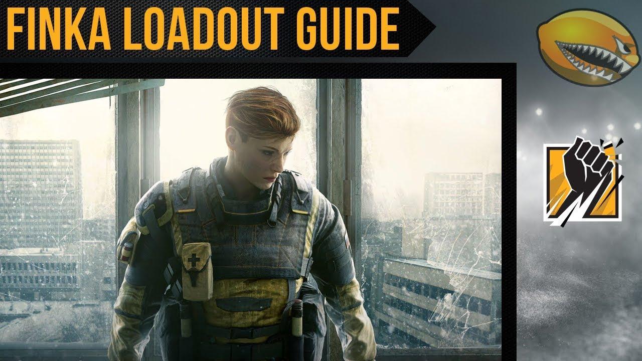 Best Finka Loadout Guide Rainbow 6 Siege Gameplay | eLemonadeR R6 | #R6