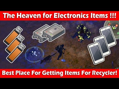 Farming Electronics For Recycler At Perfect Location! Last Day On Earth