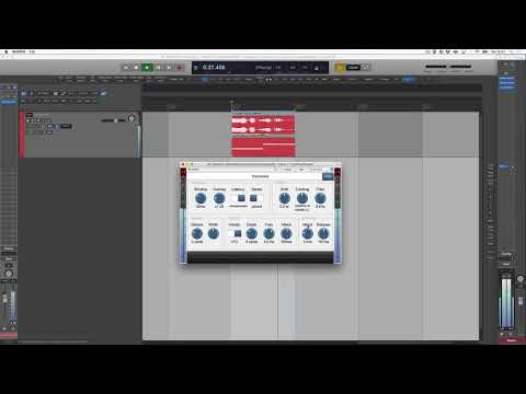 Easy workflow for setting up a Vocoder (alike) Plugin