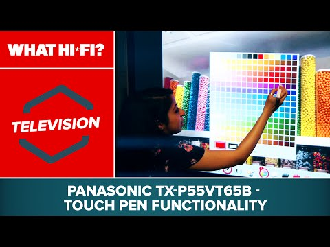 Panasonic TX-P55VT65B - Touch Pen functionality