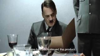 Hitler Finds Out That Nabisco No Longer Makes Bacon-flavored Snack Crackers