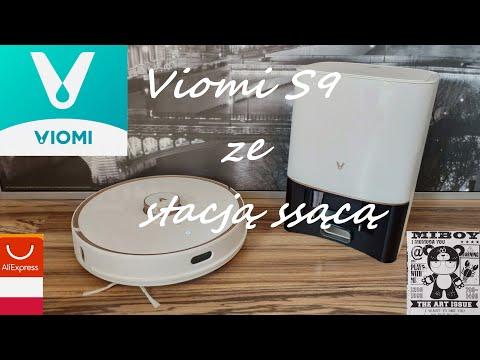 Viomi S9 robot samojezdny z bazą ssącą z językiem polskim