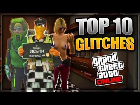 GTA 5 ONLINE - TOP 10 WORKING GLITCHES - SNOWMAN GLITCH, WALLBREACHES & MORE [Patch 1.41]