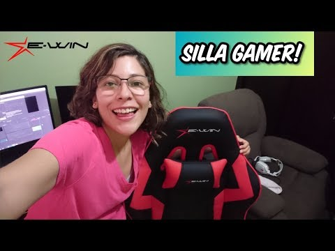 MI NUEVA SILLA GAMER! EWIN RACING