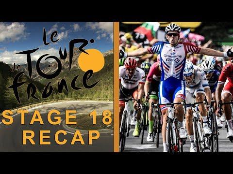 Tour de France 2018: Stage 18 Recap I NBC Sports
