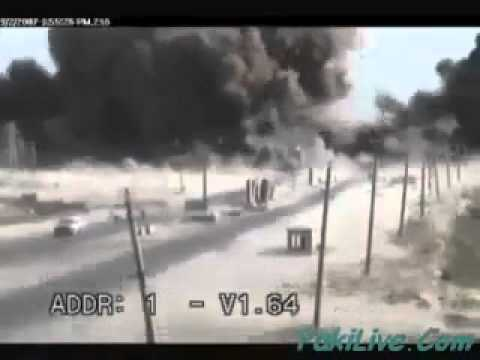Live Bomb Blast in Afghanistan
