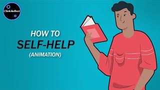 How to read & implement Self-Help books | ClickReflect Animations