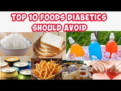 Top 10 Worst Foods Diabetics Should Avoid Youtube