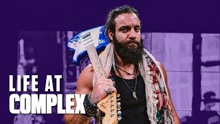 WWE SUPERSTAR ELIAS IS HERE TO TAKE OVER! | #LIFEATCOMPLEX
