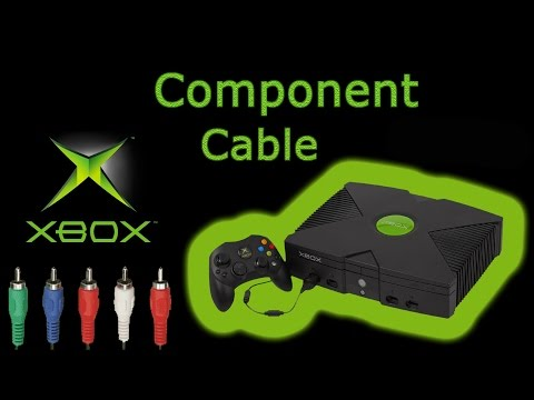 XBOX Component Cable Pick Up