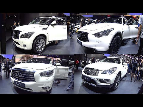 New Luxury Infiniti Suvs Esq