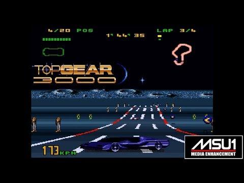 SNES MSU1 Top Gear 3000