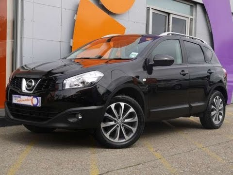 2010 nissan qashqai tekna 5dr black for sale in. Black Bedroom Furniture Sets. Home Design Ideas