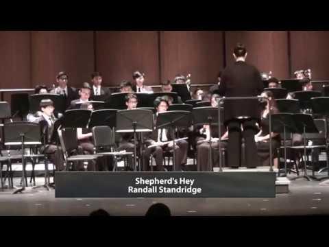 Kerr High School Wind Ensemble - Shepherds's Hey