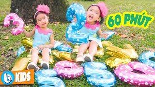 Tập Đếm, Chú Ếch Con - 60 Phút Nhạc Thiếu Nhi Hay Nhất Cho Bé Ăn Ngon