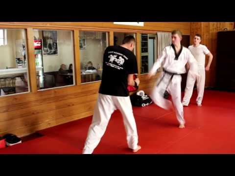 Erwachsenen Taekwondo-Training Mit Harun Özdemir - Fight Academy Song Paderborn