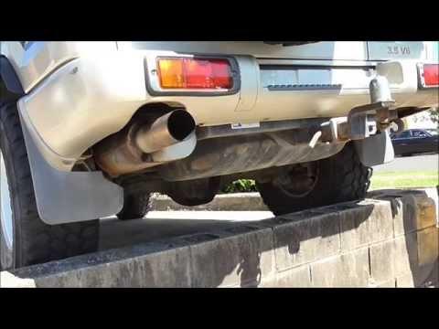 1999 holden Jackaroo Isuzu Trooper 3 5 V6 Auto Exhaust 2 75