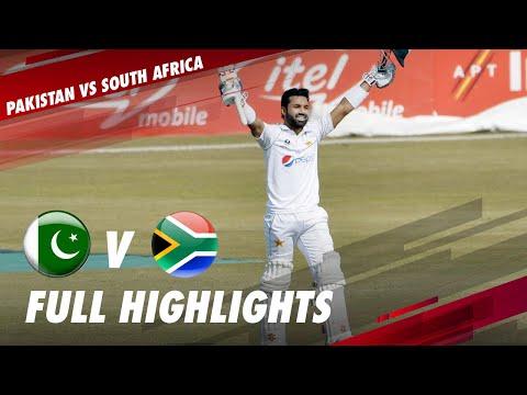 Pakistan vs South Africa | Full Match Highlights | 2nd Test
