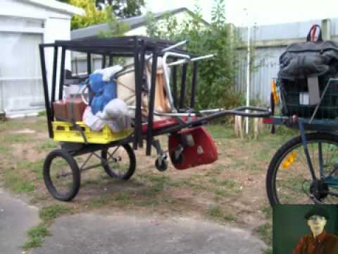 Cheapest Strongest Bicycle Trailer Mp4 Youtube