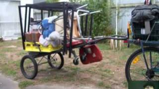 Cheapest strongest bicycle trailer.mp4