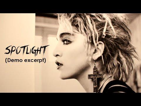 MADONNA - Spotlight (1984 Lisa Stephens Demo Excerpt)