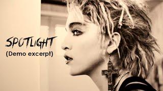 Madonna - Spotlight (1984 Lisa Stephens Demo Excerpt) Mp3