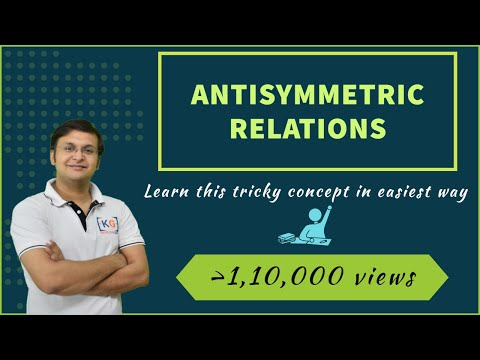 Anti-symmetric Relations | Discrete Mathematics- part 4