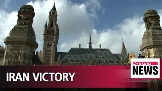 International Court of Justice orders U.S. to lift re-imposed sanctions on Iran .  .,  .    . . . The International Court of Justice has ordered the United States to ease sanctions on Iran for ..., From YouTubeVideos