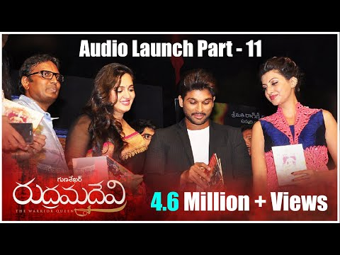 Rudrama Devi Movie Audio Launch Part 4 - Anushka, Allu Arjun, Rana