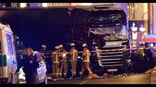 BREAKING ISLAMIC terrorist attack Germany truck plows Christmas market December 19 2016 News