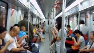 Subway from Guangzhou Baiyun Airport to Guangzhou Center