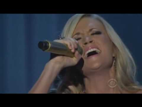 Carrie Underwood / Temporary Home (Live performance at the ACM)