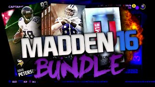 HOT DAMN NEW ADRIAN PETERSON! ROB RYAN FIRED?!1 TOTW | MADDEN 16 ULTIMATE TEAM