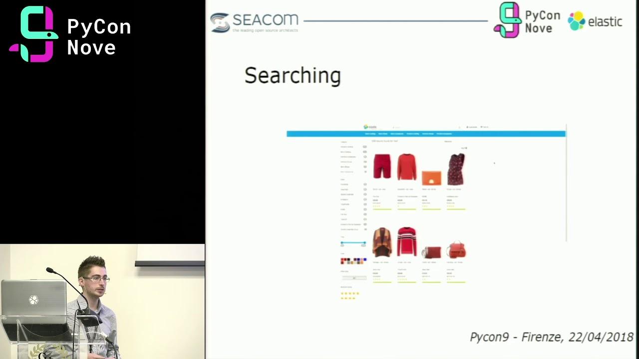 Image from Python e Elasticsearch: dal Text Search a NLP e oltre