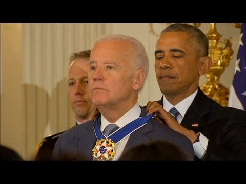 Obama Awards Biden Medal of Freedom in Surprise Ceremony