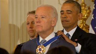 Obama Awards Biden Medal of Freedom in Surprise Ceremony