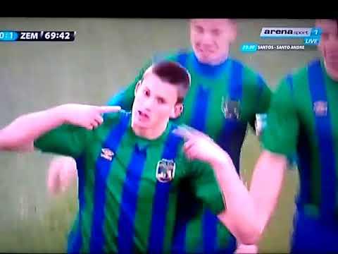 Partizan Zemun gol penal Nemanja Vučić panenka| Mondo TV