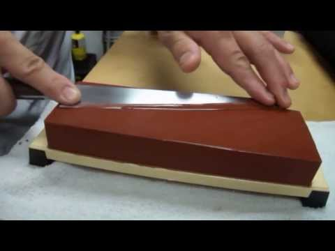 Thumbnail: Sharpening Knife on a Whetstone with Master Sushi Chef Hiro Terada.