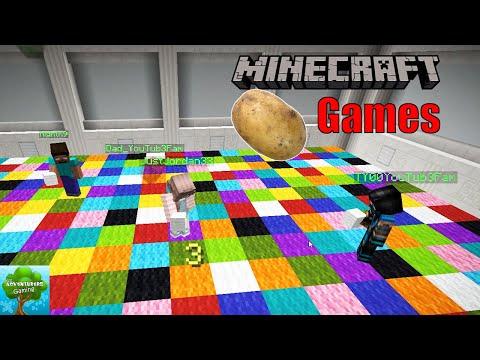 Family Minecraft Potato Mini Games I The Adventurers Gaming