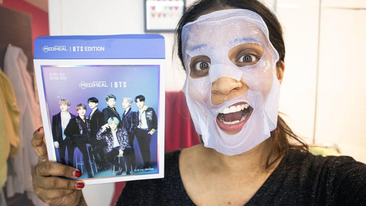 masque facial bts