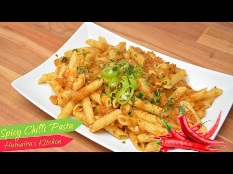 Pasta Masala Recipe (Spicy Chilli Masala) - Pakistani | Indian Style - Humaira's Kitchen