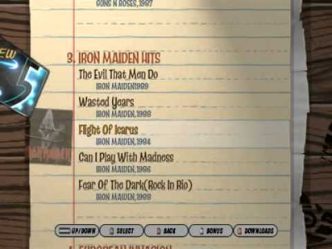 Guitar hero 3 pc custom songs list guns n roses and iron maiden