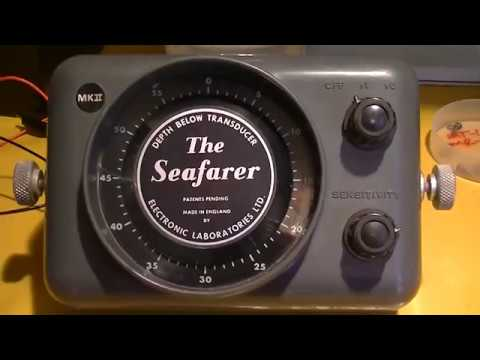 Seafarer Depth Sounder  A Look Inside A Classic Flasher Type From 1971